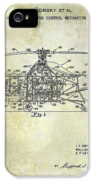 1950 Helicopter Patent IPhone 5 Case