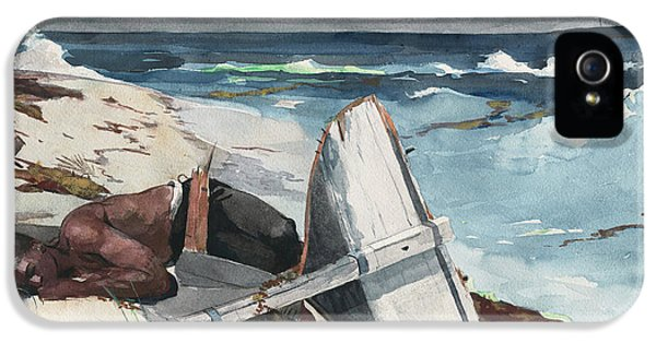 After The Hurricane, Bahamas IPhone 5 / 5s Case by Winslow Homer