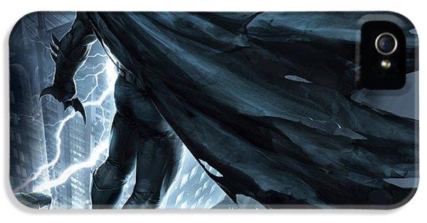 Batman The Dark Knight Returns 2012 IPhone 5 Case by Caio Caldas