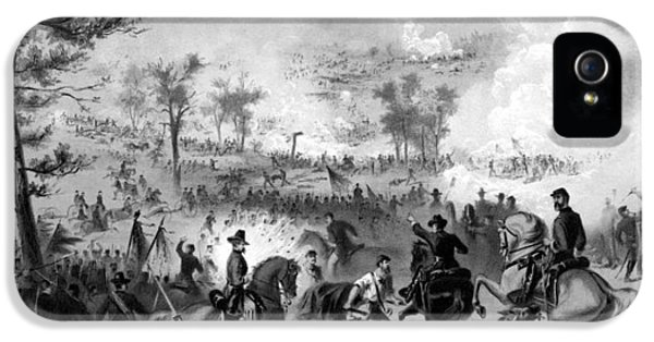 Gettysburg iPhone 5 Case - Battle Of Gettysburg by War Is Hell Store