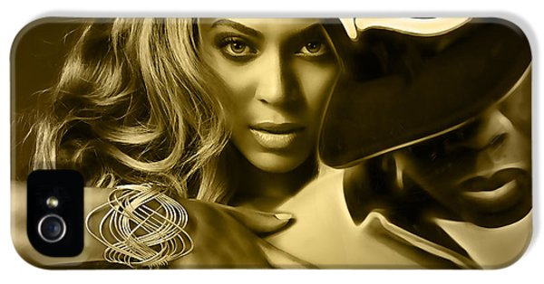 Beyonce Jay Z Collection IPhone 5 / 5s Case by Marvin Blaine