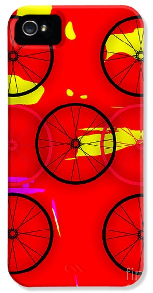 Bicycle Wheel Collection IPhone 5 Case by Marvin Blaine