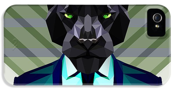 Black Panther IPhone 5 Case