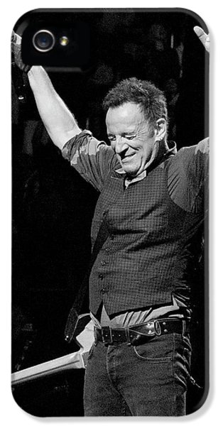 Bruce Springsteen IPhone 5 Case by Jeff Ross