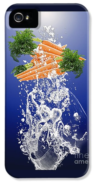 Carrot Splash IPhone 5 Case by Marvin Blaine