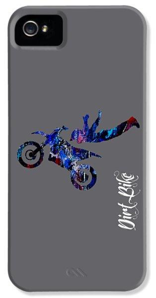 Dirt Bike Superman Collection IPhone 5 Case by Marvin Blaine