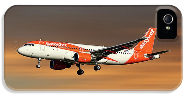 Jet iPhone 5 Case - Easyjet Airbus A320-214 by Smart Aviation
