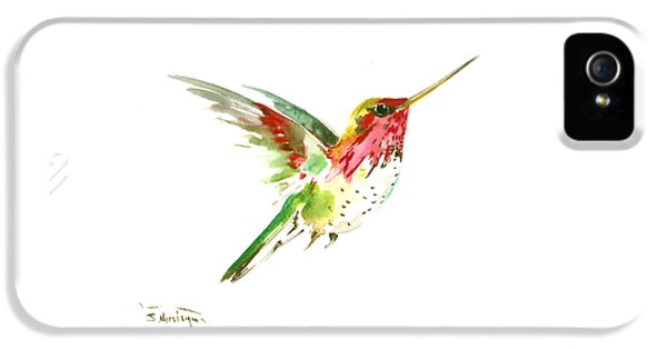 Flying Hummingbird IPhone 5 Case by Suren Nersisyan