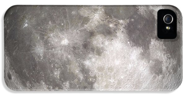 Round iPhone 5 Cases - Full Moon iPhone 5 Case by Stocktrek Images