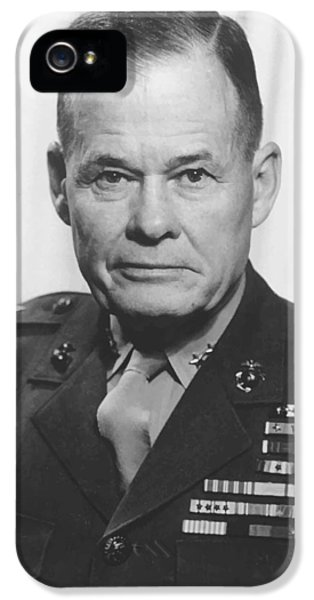General Lewis Chesty Puller IPhone 5 Case by War Is Hell Store