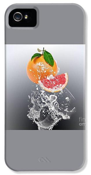 Grapefruit Splash IPhone 5 / 5s Case by Marvin Blaine