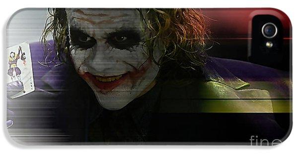 Heath Ledger IPhone 5 Case by Marvin Blaine
