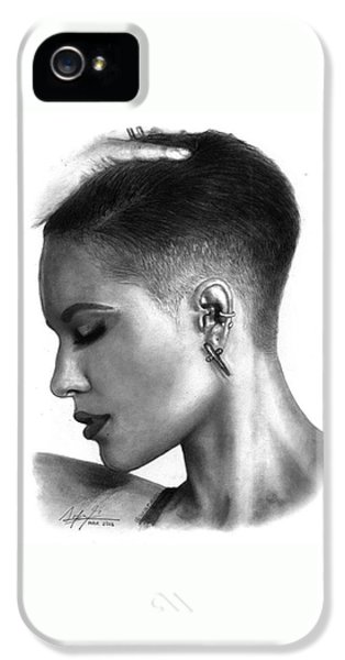 iPhone 5 Case - Halsey Drawing By Sofia Furniel by Jul V