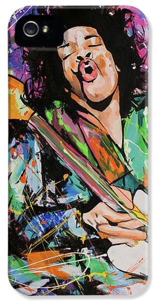 Jimi Hendrix IPhone 5 Case by Richard Day