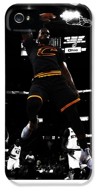 King James IPhone 5 Case by Brian Reaves