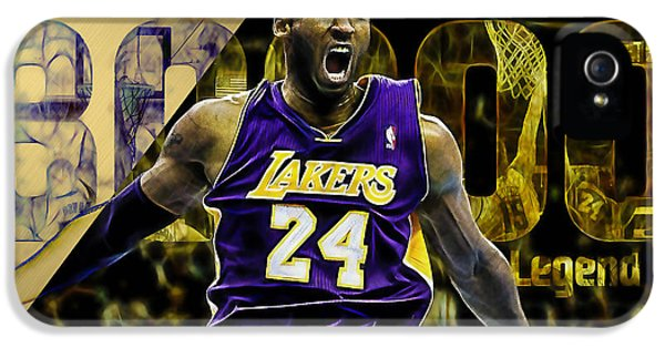 Kobe Bryant Collection IPhone 5 Case by Marvin Blaine