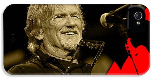 Kris Kristofferson Collection IPhone 5 Case
