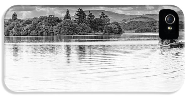 Lake Of Menteith IPhone 5 Case by Jeremy Lavender Photography