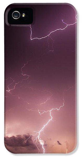 Nebraskasc iPhone 5 Case - Late July Storm Chasing 057 by NebraskaSC