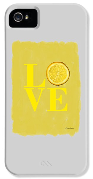 Lemon iPhone 5 Case - Lemon by Mark Rogan