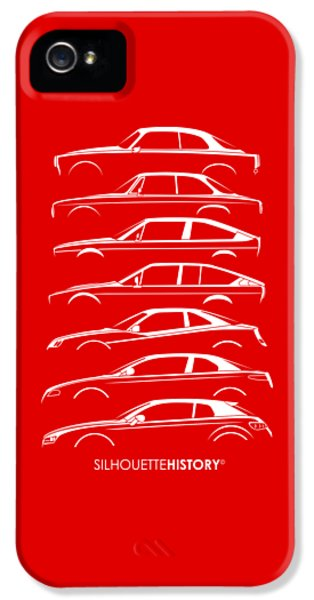 Lombard Coupe Silhouettehistory IPhone 5 Case by Gabor Vida