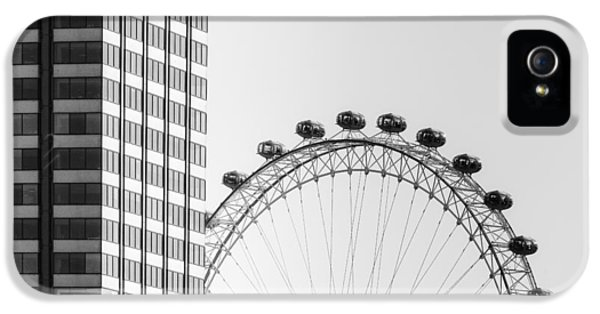 London Eye IPhone 5 Case by Joana Kruse