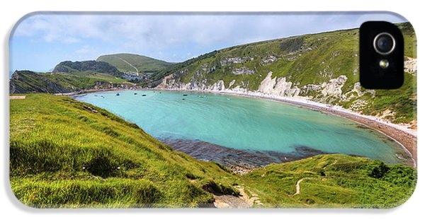 Dorset iPhone 5 Case - Lulworth Cove - England by Joana Kruse