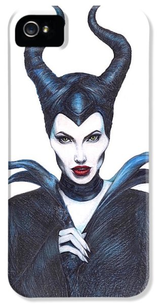 Maleficent  Once Upon A Dream IPhone 5 Case by Kent Chua