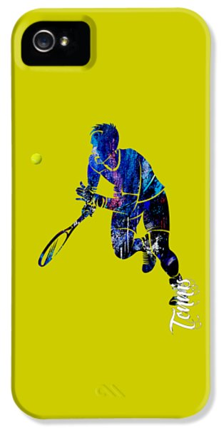 Mens Tennis Collection IPhone 5 Case by Marvin Blaine