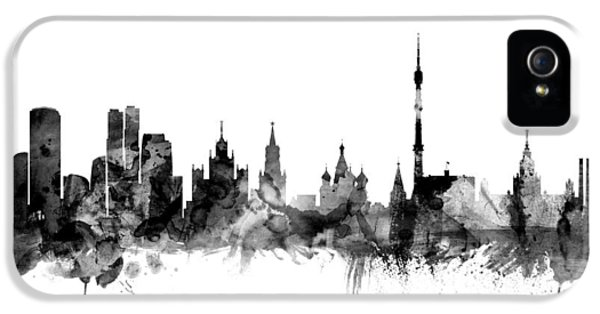 Moscow Russia Skyline IPhone 5 / 5s Case by Michael Tompsett