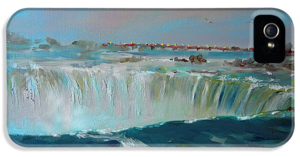 Niagara Falls IPhone 5 Case by Ylli Haruni