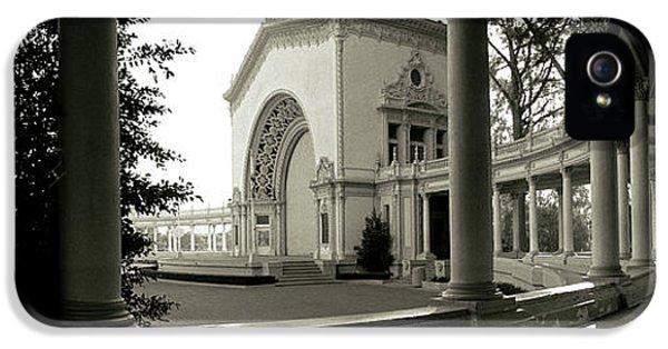 Pavilion In A Park, Balboa Park, San IPhone 5 Case