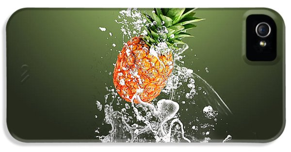 Pineapple Splash IPhone 5 Case by Marvin Blaine