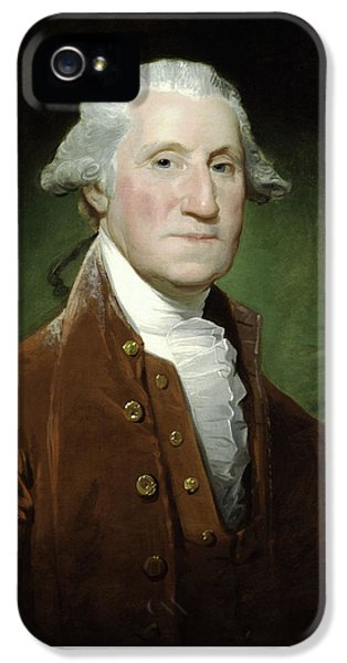 President George Washington IPhone 5 Case by War Is Hell Store