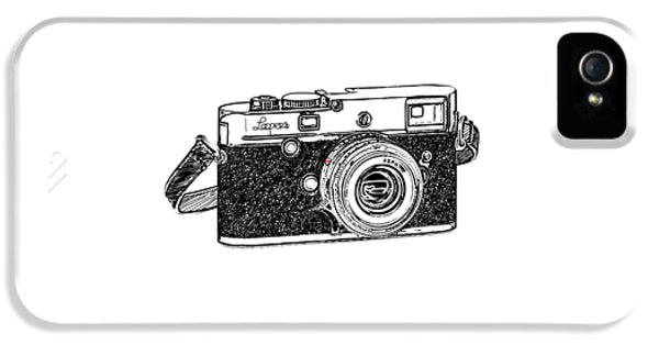 Rangefinder Camera IPhone 5 Case