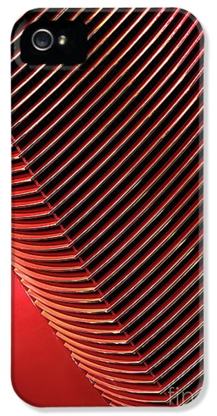 Red Classic Car Details IPhone 5 Case