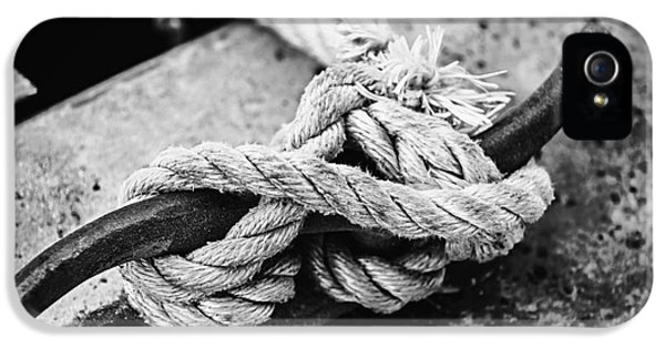 Rope On Cleat IPhone 5 Case by Elena Elisseeva