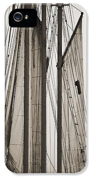 Schooner Pride Tall Ship Charleston Sc IPhone 5 Case by Dustin K Ryan