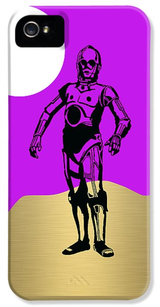 Star Wars C-3po Collection IPhone 5 Case by Marvin Blaine