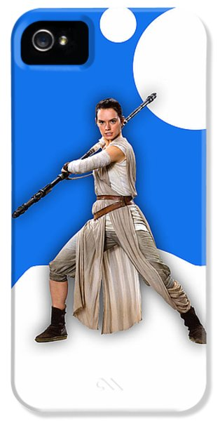 star Wars Rey Collection IPhone 5 Case