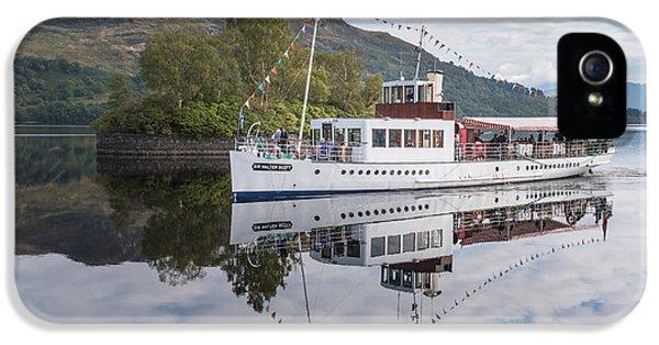 Steamship Sir Walter Scott On Loch Katrine IPhone 5 Case