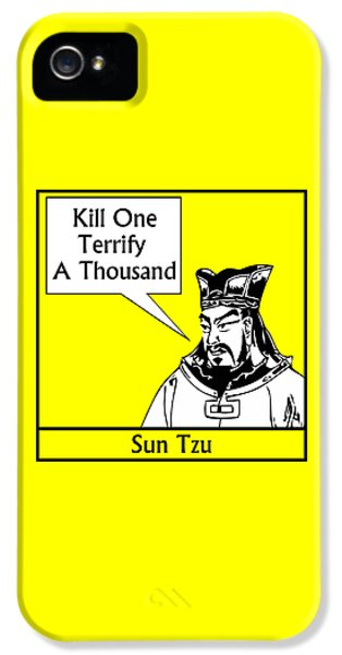 Sun Tzu IPhone 5 Case by War Is Hell Store