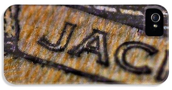 Detail iPhone 5 Case - The Eagle Has Landed. $20 Bill Yo by David Haskett II