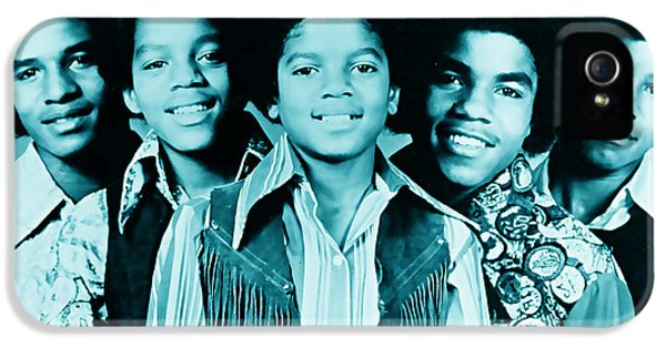The Jackson 5 Collection IPhone 5 Case by Marvin Blaine