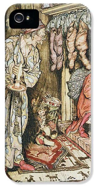 The Night Before Christmas IPhone 5 / 5s Case by Arthur Rackham