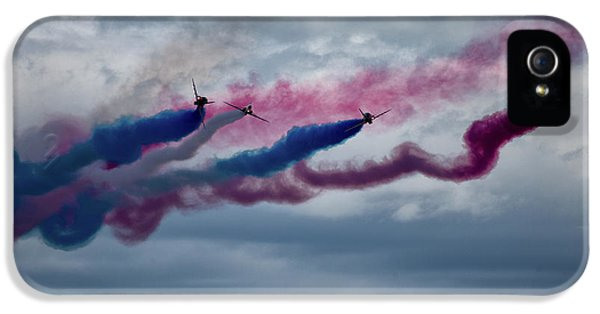 The Red Arrows IPhone 5 Case by Nichola Denny