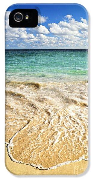 Beach iPhone 5 Case - Tropical Beach  by Elena Elisseeva