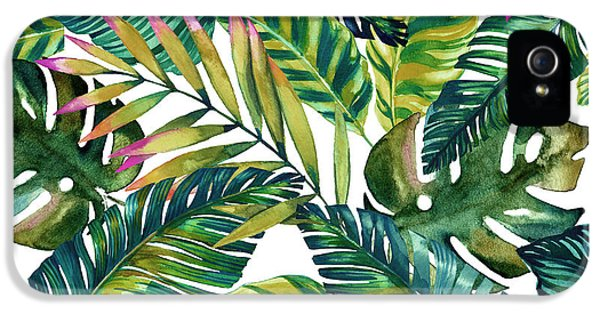 Tropical  IPhone 5 / 5s Case by Mark Ashkenazi
