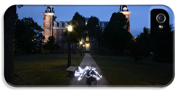 University Of Arkansas IPhone 5 Case by Chris  Look