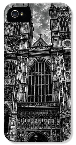 Westminster Abbey IPhone 5 Case by Martin Newman